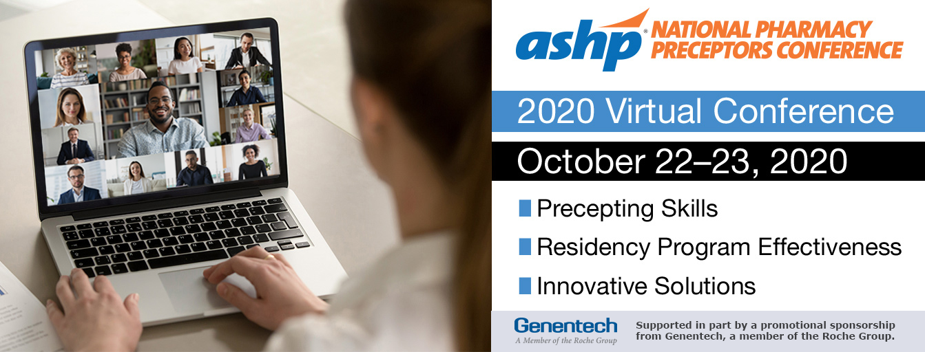 National Pharmacy Preceptors Virtual Conference